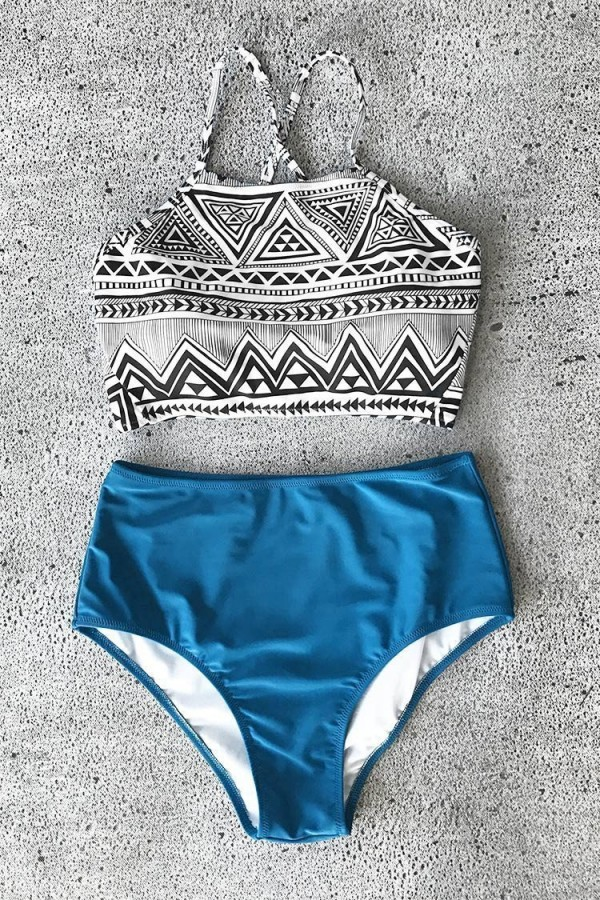 Simple Truth Cross Bikini Set
